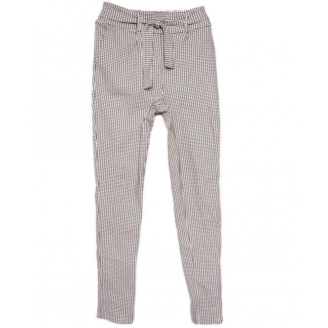 0018-42 белые Exclusive брюки женские весенние стрейчевые (42-48,норма, 4 ед.) Exclusive: артикул 1109759