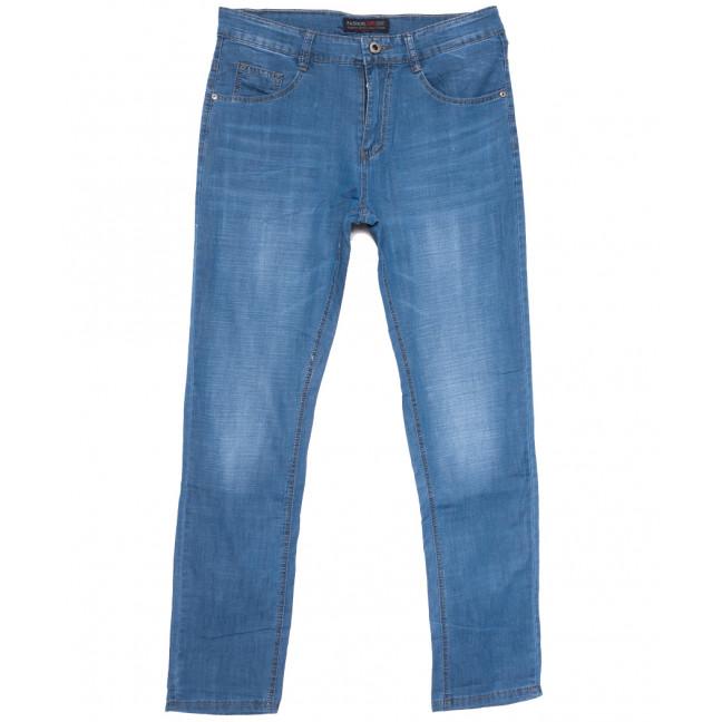 8009 Vouma-Up джинсы мужские полубатальные синие весенние стрейчевые (32-38, 8 ед.) Vouma-Up: артикул 1109657