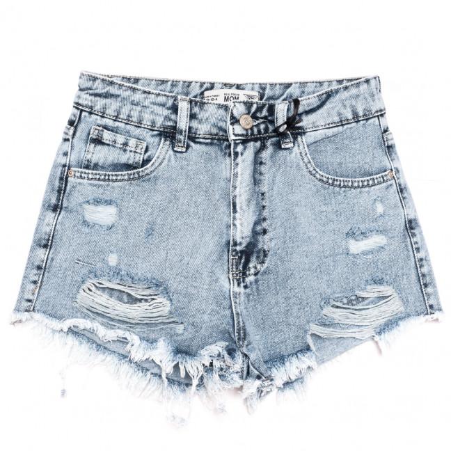 4029-2 Real Focus шорты джинсовые женские c рванкой синие коттоновые (26-30, 5 ед.) Real Focus: артикул 1110504
