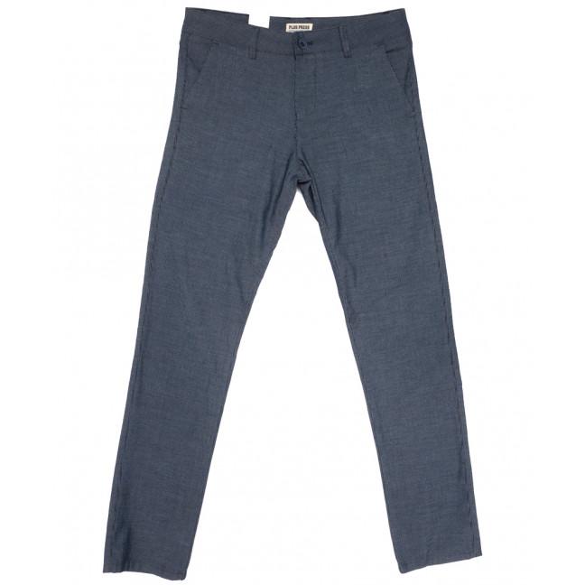 0862 Plus Press брюки мужские синие весенние стрейчевые (29-36, 8 ед.) Plus Press: артикул 1110016