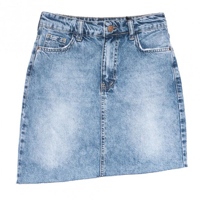 6017 Real Focus юбка джинсовая синяя коттоновая (25-28, 5 ед.) Real Focus: артикул 1109862