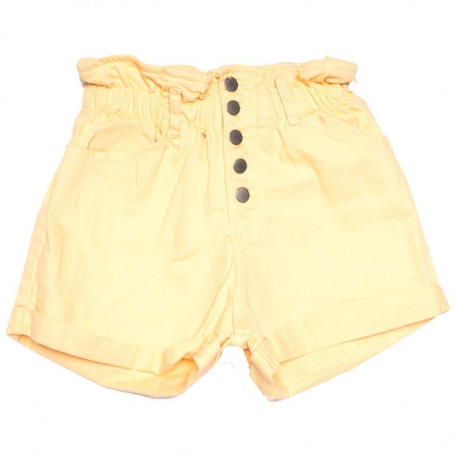 11547 бледно-желтые Defile шорты джинсовые женские коттоновые (34-40,евро, 6 ед.) XRAY: артикул 1110429