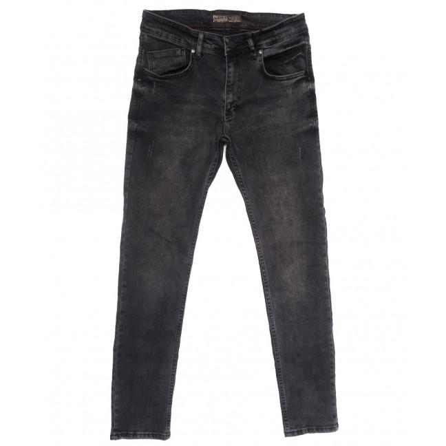 6651 Destry джинсы мужские с царапками серые весенние стрейчевые (29-36, 8 ед.) Destry: артикул 1109923