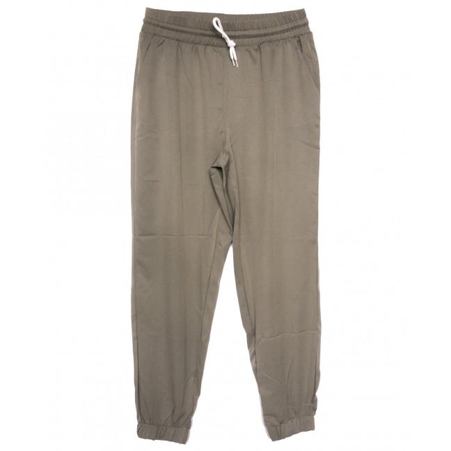 0237-50 хаки Exclusive брюки женские спортивные батальные стрейчевые (50-54, 3 ед.) Exclusive: артикул 1109754