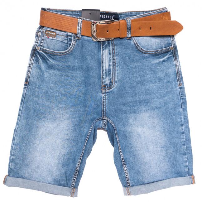 6235 Resalsa шорты джинсовые мужские полубатальные синие стрейчевые (32-40, 7 ед.) Resalsa: артикул 1109694