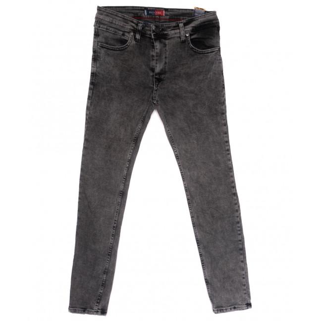 6943 Redcode джинсы мужские полубатальные с царапками серые весенние стрейчевые (32-40, 8 ед.) Redcode: артикул 1110256