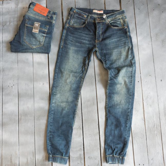 4261 Destry джинсы мужские синие весенние стрейчевые (30-36, 7 ед.) Destry: артикул 1109426