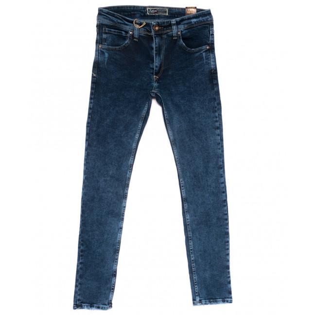 6818 Fashion red джинсы мужские с царапками синие весенние стрейчевые (29-36, 8 ед.) Fashion Red: артикул 1110258