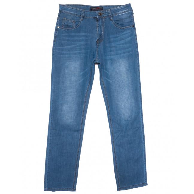 8014 Vouma-Up джинсы мужские полубатальные синие весенние стрейчевые (32-42, 8 ед.) Vouma-Up: артикул 1109658