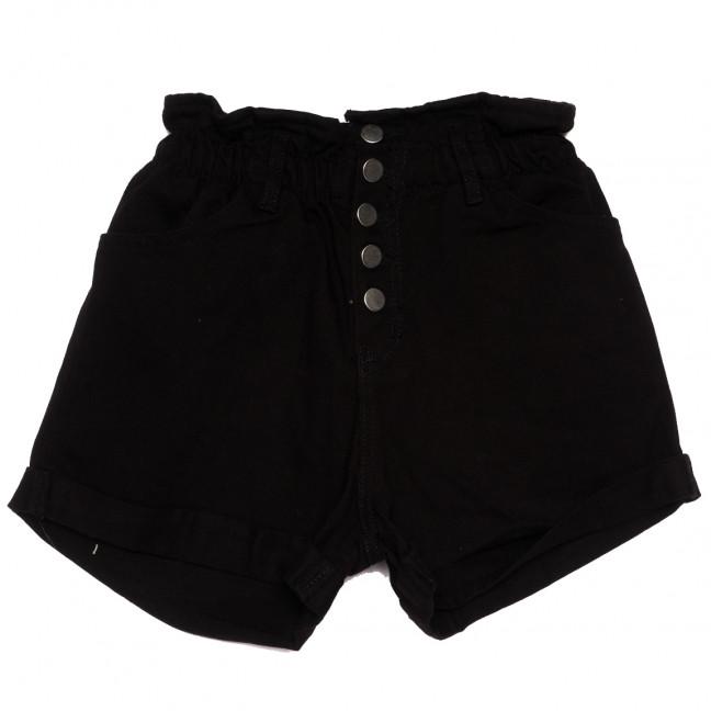11547 черные Defile шорты джинсовые женские коттоновые (34-40,евро, 6 ед.) XRAY: артикул 1110426