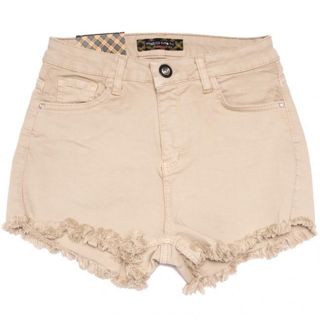 0817 бежевые Redmoon шорты джинсовые женские стрейчевые (25-30, 6 ед.) REDMOON: артикул 1110148
