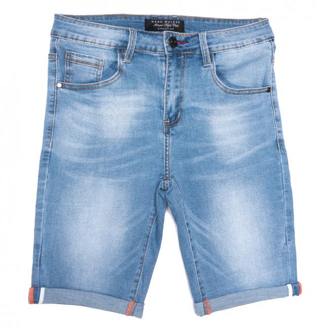 3016 Mark Walker шорты джинсовые мужские синие стрейчевые (29-38, 8 ед.) Mark Walker: артикул 1109832