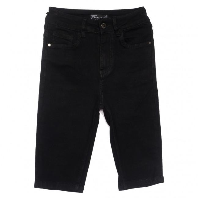 0220 шорты джинсовые женские черные стрейчевые (25-30, 6 ед.) Шорты: артикул 1109625