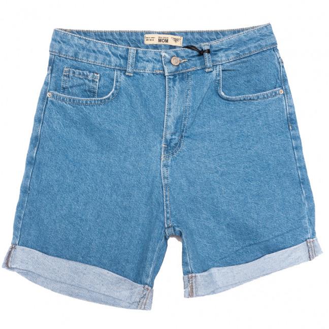 4010-В2 Real Focus шорты джинсовые женские батальные синие коттоновые (30-34, 5 ед.) Real Focus: артикул 1110502