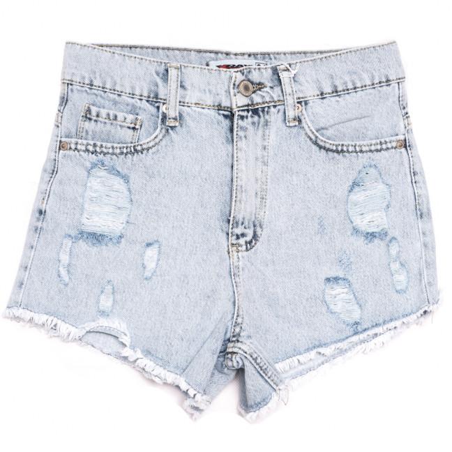 3475 Xray шорты джинсовые женские с рванкой синие коттоновые (34-40,евро, 5 ед.) XRAY: артикул 1110434