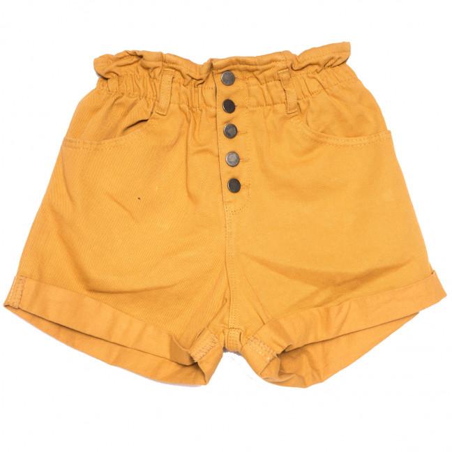 11547 горчичные Defile шорты джинсовые женские коттоновые (34-40,евро, 6 ед.) XRAY: артикул 1110431