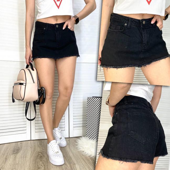 2879-1 Xray шорты-юбка джинсовые женские котоновые (34-42, 5 ед.) XRAY: артикул 1109765