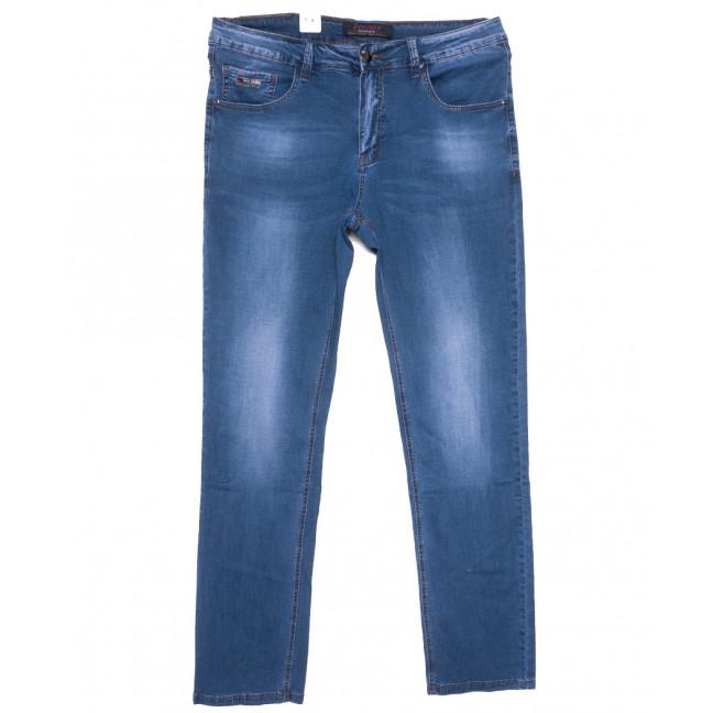 16008 Feerars джинсы мужские полубатальные синие весенние стрейчевые (32-38, 8 ед.) Feerars: артикул 1109637