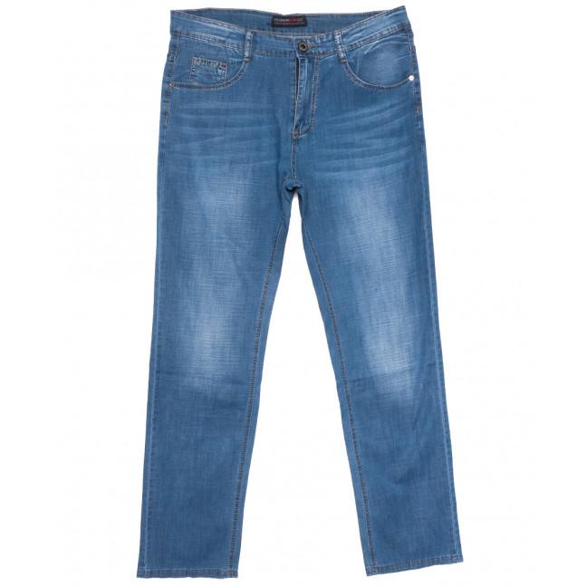 8012 Vouma-Up джинсы мужские полубатальные синие весенние стрейчевые (32-42, 8 ед.) Vouma-Up: артикул 1109659