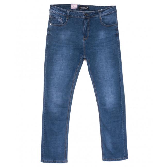 5323 Dervirga джинсы мужские полубатальные синие весенние стрейчевые (32-38, 8 ед.) Dervirga: артикул 1110049
