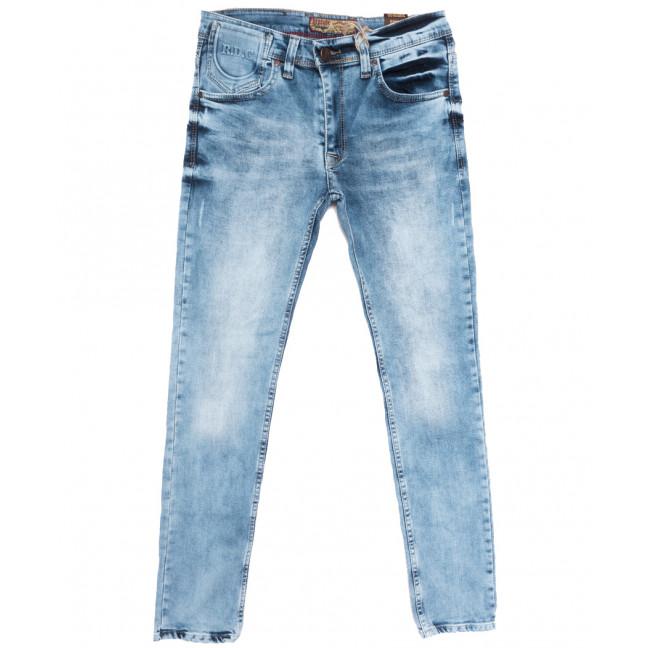6850 Redcode джинсы мужские с царапками синие весенние стрейчевые (29-36, 8 ед.) Redcode: артикул 1109934