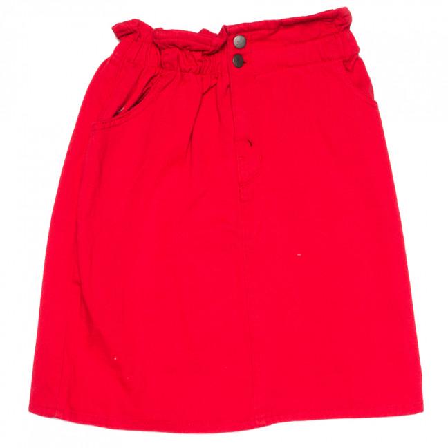 0227 Defile юбка джинсовая красная весенняя коттоновая (34-40,евро, 7 ед.) Defile: артикул 1110287