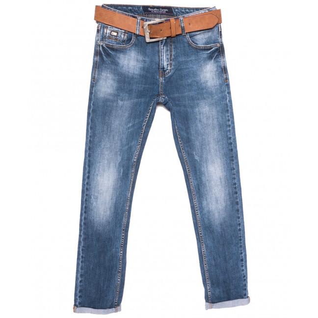 9621 Resalsa джинсы мужские с царапками синие весенние стрейчевые (29-36, 7 ед.) Resalsa: артикул 1109731