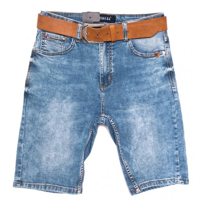6240 Resalsa шорты джинсовые мужские полубатальные синие стрейчевые (32-40, 7 ед.) Resalsa: артикул 1109696