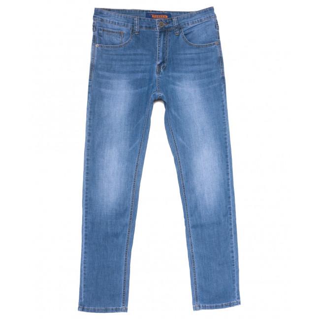 8032 Pobeda джинсы мужские синие весенние стрейчевые (29-38, 8 ед.) Pobeda: артикул 1109665