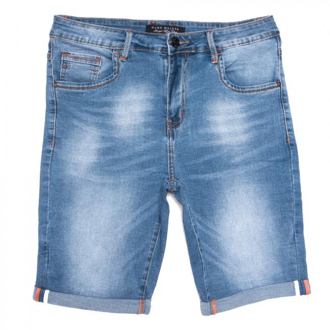 3015 Mark Walker шорты джинсовые мужские полубатальные синие стрейчевые (32-40, 8 ед.) Mark Walker: артикул 1109834