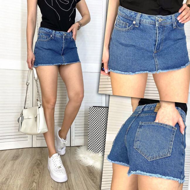 2879 Xray шорты-юбка джинсовые женские котоновые (34-42, 5 ед.) XRAY: артикул 1109764