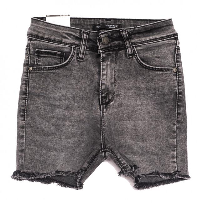3925 Hepyek шорты джинсовые женские серые стрейчевые (26-31, 7 ед.) Hepyek: артикул 1110436