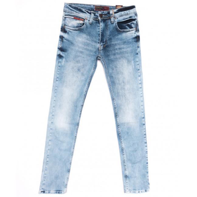6851 Corcix джинсы мужские c царапками синие весенние стрейчевые (29-36, 8 ед.) Corcix: артикул 1110124