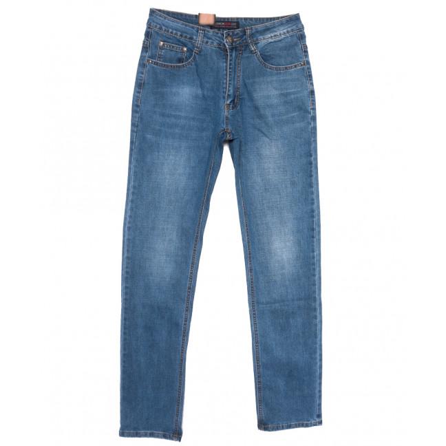 8001 Fashion jeans джинсы мужские синие весенние стрейчевые (30-38, 8 ед.) Fashion jeans: артикул 1110055