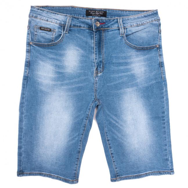3008 Mark Walker шорты джинсовые мужские батальные синие стрейчевые (34-44, 8 ед.) Mark Walker: артикул 1109829