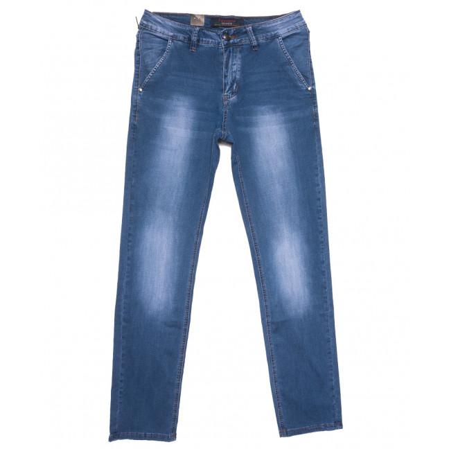 16005 Feerars джинсы мужские синие весенние стрейчевые (29-38, 8 ед.) Feerars: артикул 1109634