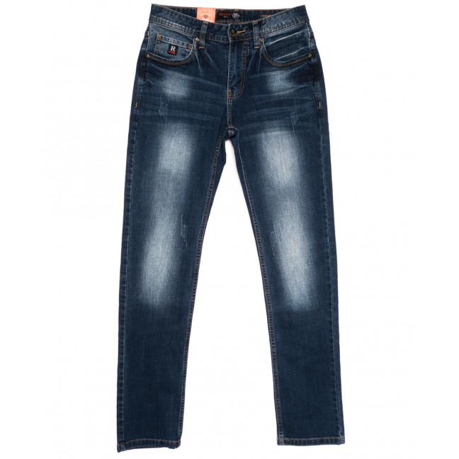 8804-3 R Relucky джинсы мужские молодежные с царапками синие осенние стрейчевые (28-36, 8 ед.) Relucky: артикул 1110570