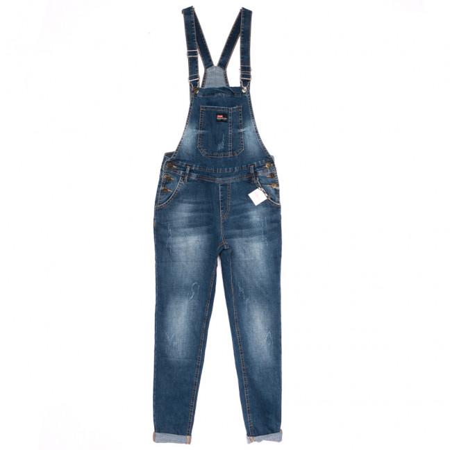 3315-1 Y Relucky комбинезон джинсовый женский синий осенний стрейчевый (25-30, 6 ед.) Relucky: артикул 1110603