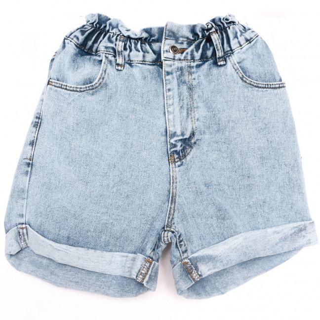 0607 Moonart шорты джинсовые женские синие коттоновые (26-30, 5 ед.) MoonArt: артикул 1110491