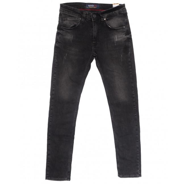 6709 Fashion Red джинсы мужские с царапками серые весенние стрейчевые (29-36, 8 ед.) Fashion Red: артикул 1109922
