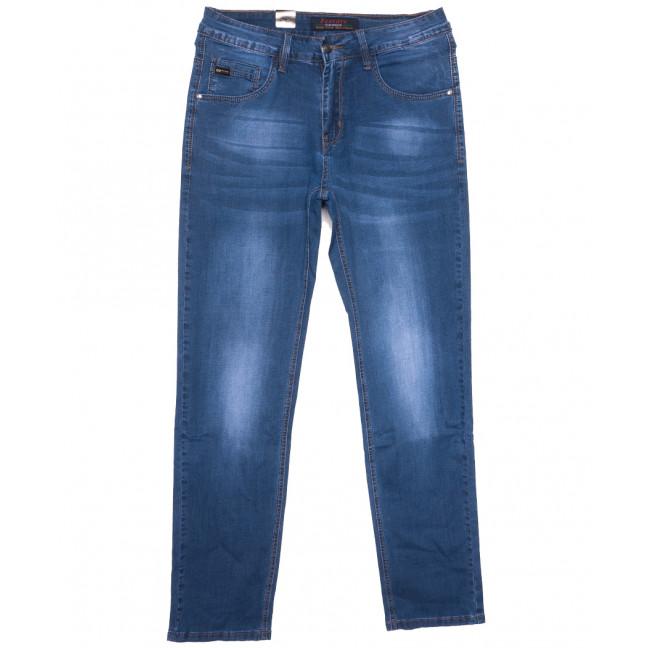 16009 Feerars джинсы мужские полубатальные синие весенние стрейчевые (32-42, 8 ед.) Feerars: артикул 1109638