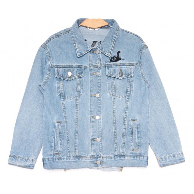 8065 Zijinyan куртка джинсовая женская синяя весенняя коттоновая (S-3XL, 6 ед.) Zijinyan: артикул 1110001