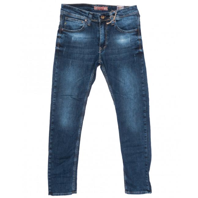 6711 Redcode джинсы мужские с царапками синие весенние стрейчевые (29-36, 8 ед.) Redcode: артикул 1109926