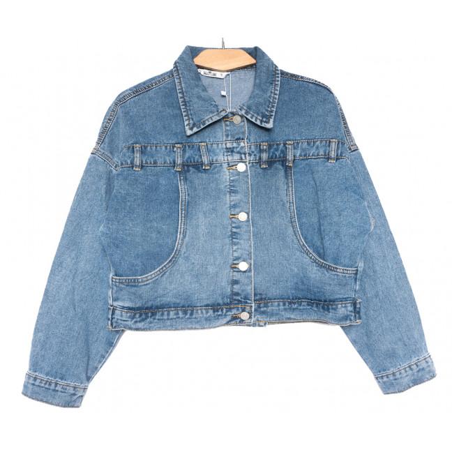 8028 Zijinyan куртка джинсовая женская синяя весенняя коттоновая (S-3XL, 6 ед.) Zijinyan: артикул 1110002