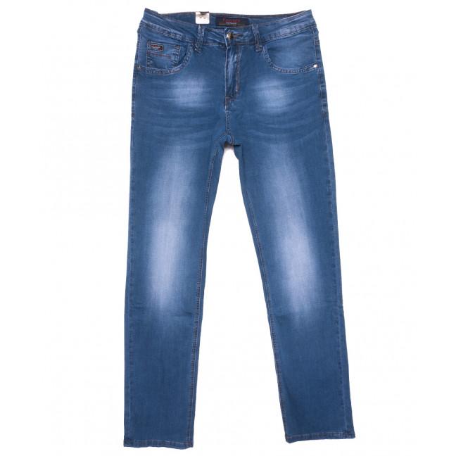 16010 Feerars джинсы мужские полубатальные синие весенние стрейчевые (32-42, 8 ед.) Feerars: артикул 1109632