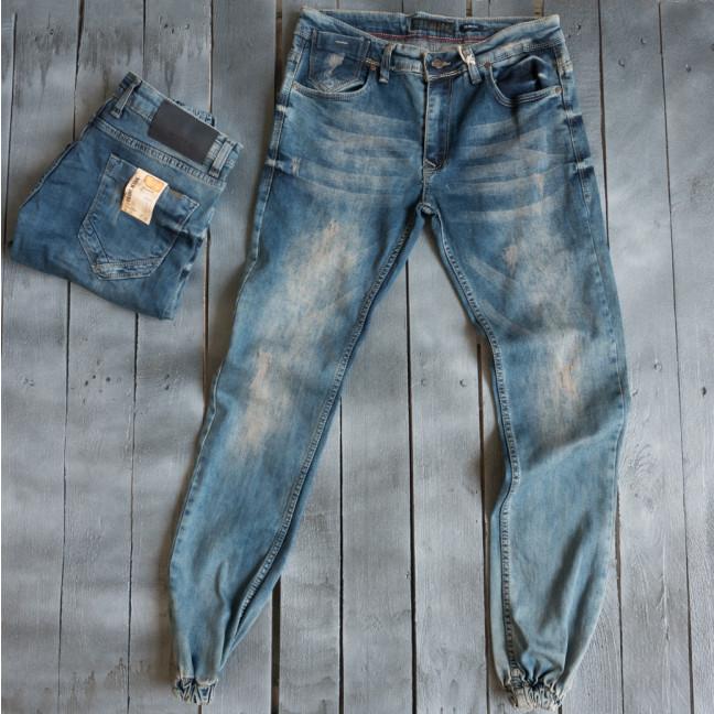 4092 Destry джинсы мужские на манжете весенние стрейчевые (29-36, 8 ед.) Destry: артикул 1109431