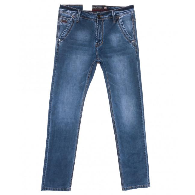 9406 Baron джинсы мужские полубатальные синие весенние стрейчевые (32-36, 8 ед.) Baron: артикул 1110078