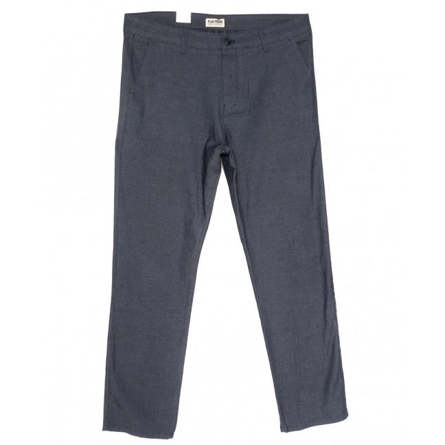 0908 Plus Press брюки мужские батальные серые весенние стрейчевые (34-42, 8 ед.) Plus Press: артикул 1110017