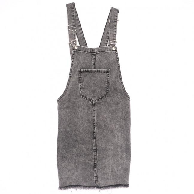 3392 Xray сарафан джинсовый серый весенний коттоновый (34-40,евро, 6 ед.) XRAY: артикул 1109877