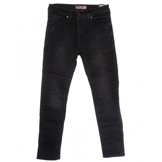 6813 Blue Nil джинсы мужские с царапками серые весенние стрейчевые (32-40, 8 ед.) Blue Nil: артикул 1109903
